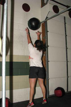 Rachel - wall ball