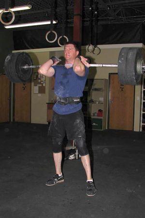 John squat clean