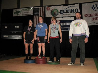 Colleen 63kg 1st place