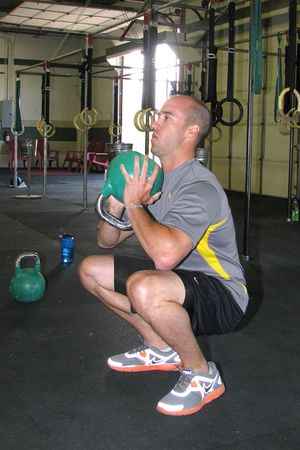 Scott B goblet squat