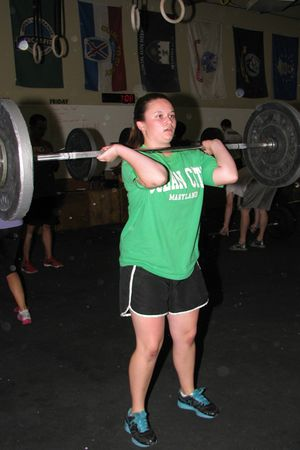 Erin power clean