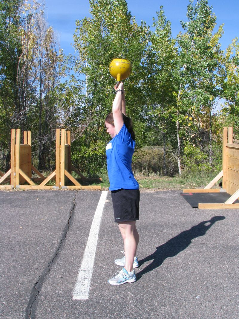 Goblet squat, KB swing 002