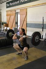 Colleen clean and jerk 2