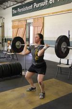 Colleen clean and jerk 3
