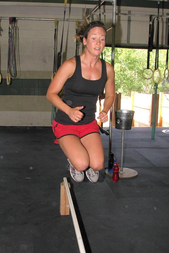 Paula stick jump