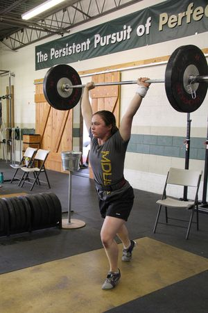 Colleen clean and jerk 4