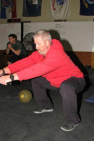 Skip squat